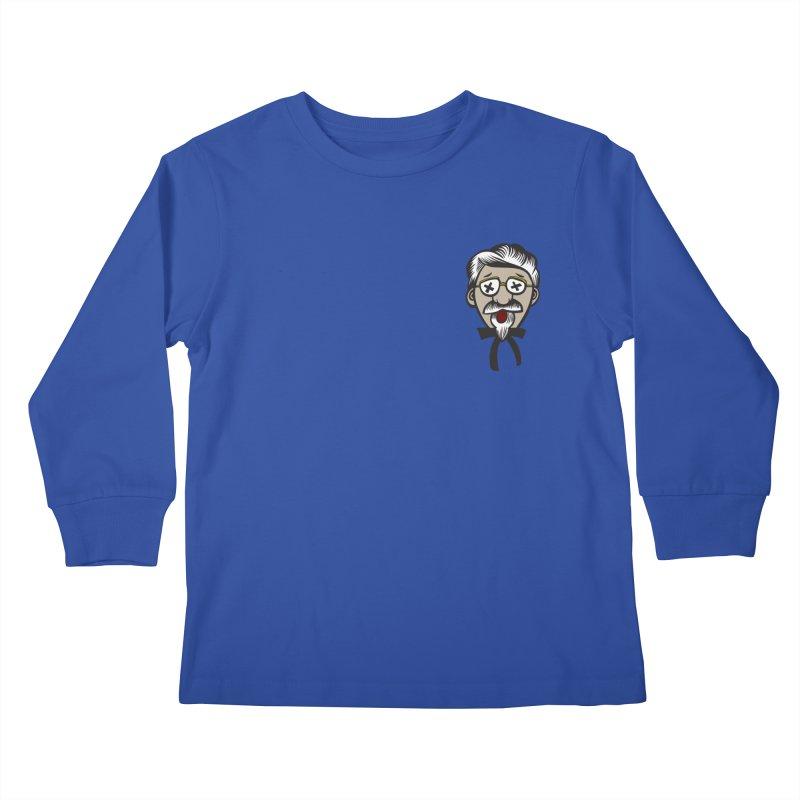 Fowl Play Kids Longsleeve T-Shirt by dZus's Artist Shop