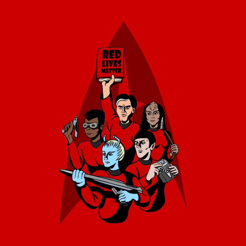 Redshirts Men's T-Shirt by dZus's Artist Shop