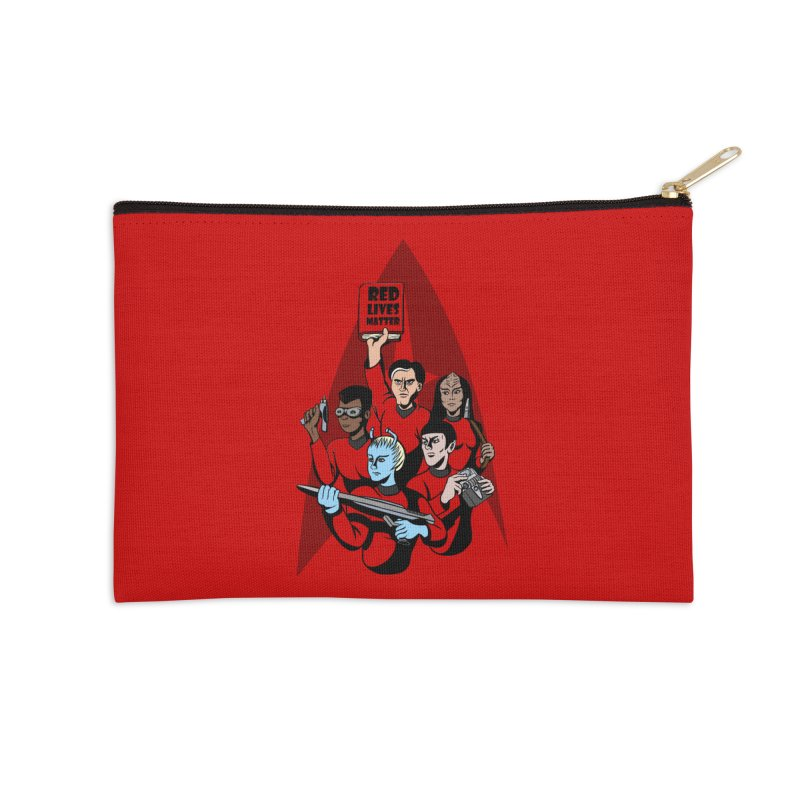 Redshirts Accessories Zip Pouch by dZus's Artist Shop