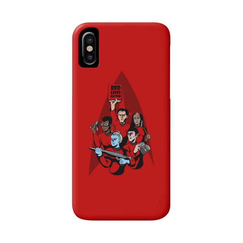 Redshirts Accessories Phone Case by dZus's Artist Shop