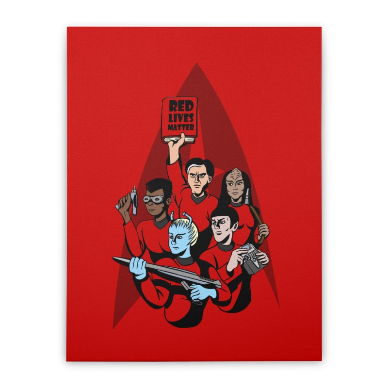 Redshirts Home Stretched Canvas by dZus's Artist Shop