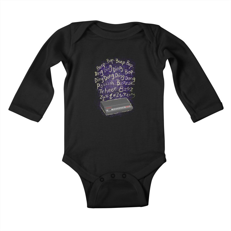 56K Life Kids Baby Longsleeve Bodysuit by dZus's Artist Shop