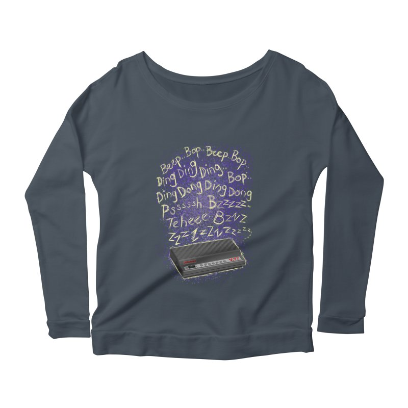 56K Life Women's Scoop Neck Longsleeve T-Shirt by dZus's Artist Shop