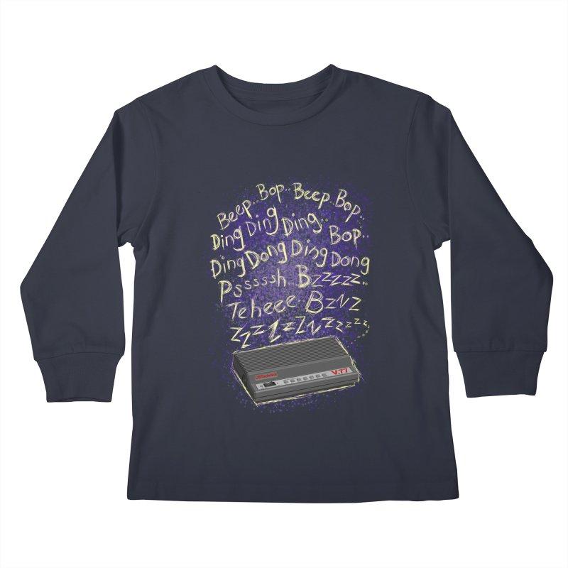 56K Life Kids Longsleeve T-Shirt by dZus's Artist Shop