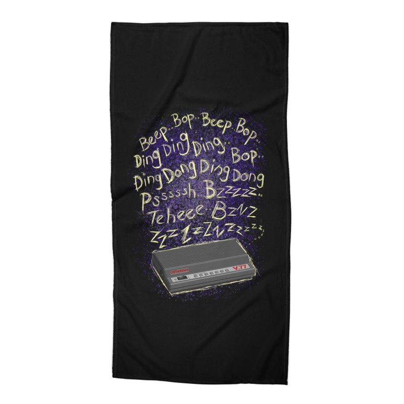 56K Life Accessories Beach Towel by dZus's Artist Shop