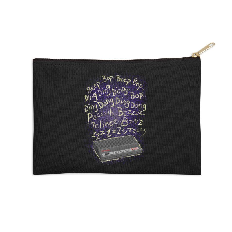 56K Life Accessories Zip Pouch by dZus's Artist Shop