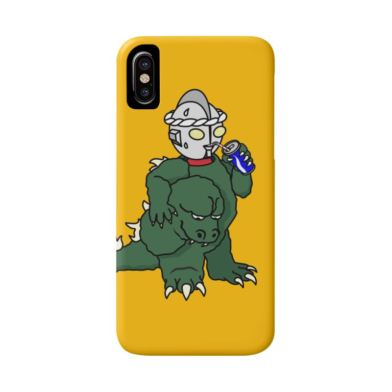 It's Ultra Tough Man Accessories Phone Case by dZus's Artist Shop