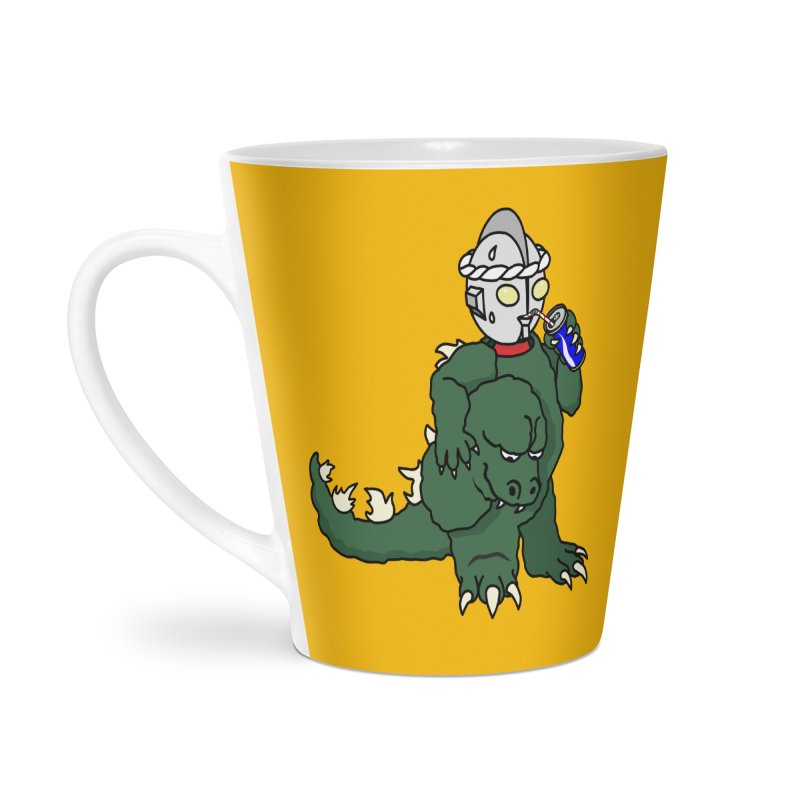 It's Ultra Tough Man Accessories Latte Mug by dZus's Artist Shop