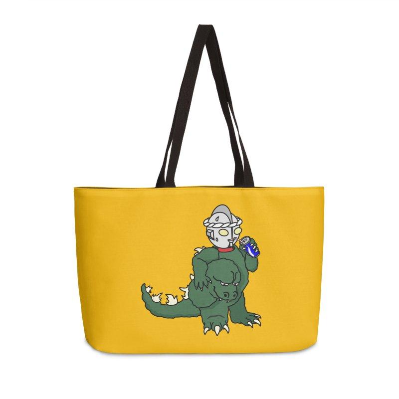 It's Ultra Tough Man Accessories Weekender Bag Bag by dZus's Artist Shop