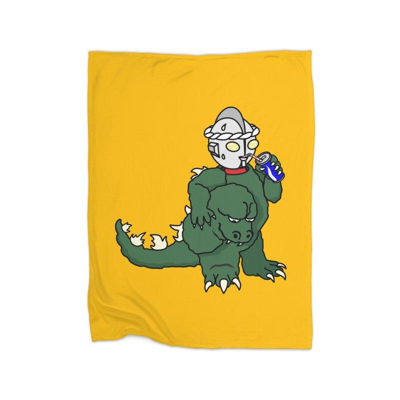 It's Ultra Tough Man Home Blanket by dZus's Artist Shop