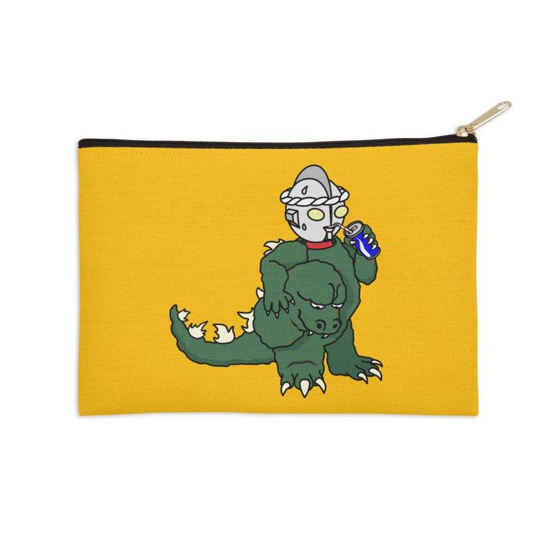 It's Ultra Tough Man Accessories Zip Pouch by dZus's Artist Shop