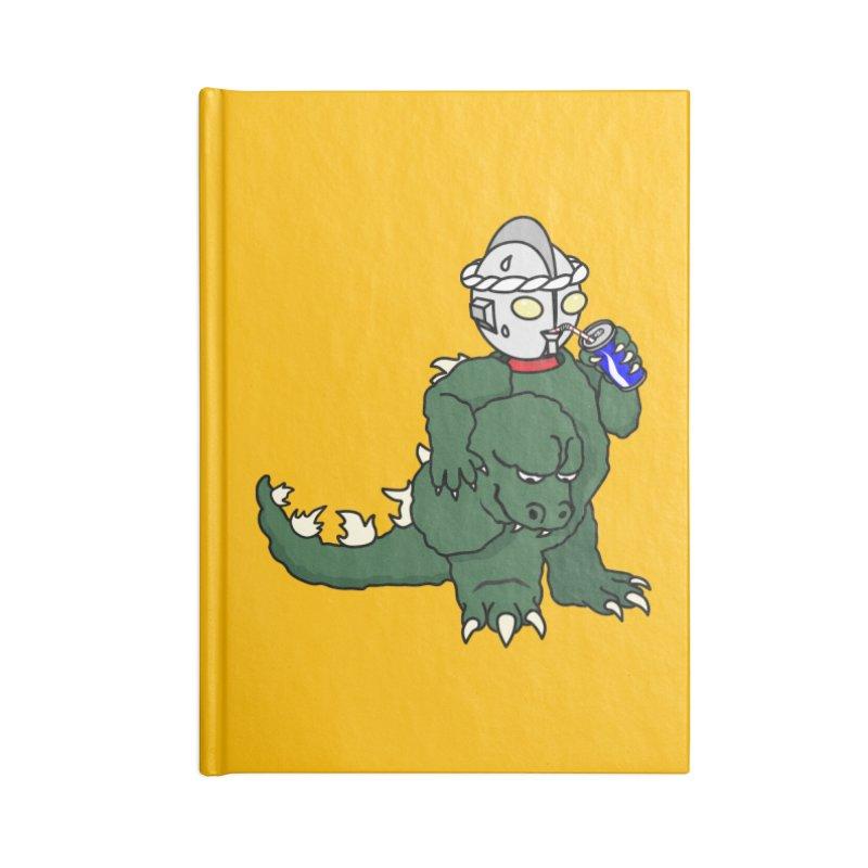 It's Ultra Tough Man Accessories Lined Journal Notebook by dZus's Artist Shop