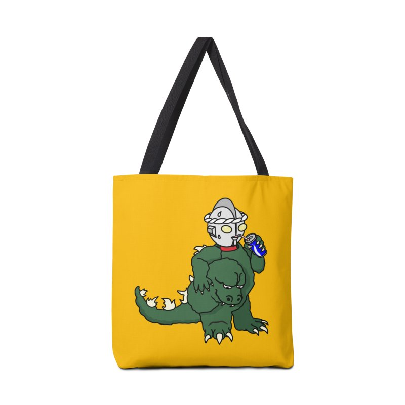 It's Ultra Tough Man Accessories Tote Bag Bag by dZus's Artist Shop