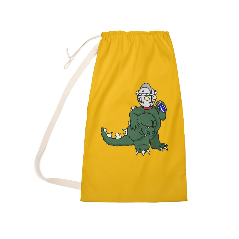 It's Ultra Tough Man Accessories Laundry Bag Bag by dZus's Artist Shop