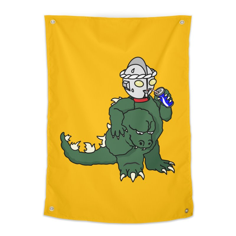 It's Ultra Tough Man Home Tapestry by dZus's Artist Shop