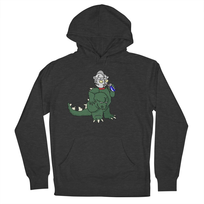 It's Ultra Tough Man Women's French Terry Pullover Hoody by dZus's Artist Shop