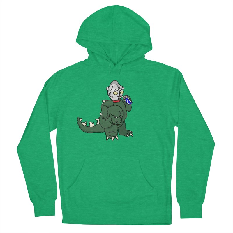 It's Ultra Tough Man Men's French Terry Pullover Hoody by dZus's Artist Shop