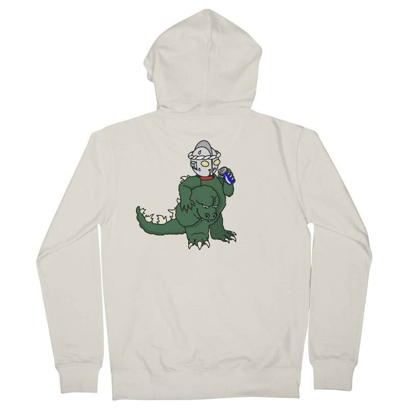 It's Ultra Tough Man Women's Zip-Up Hoody by dZus's Artist Shop