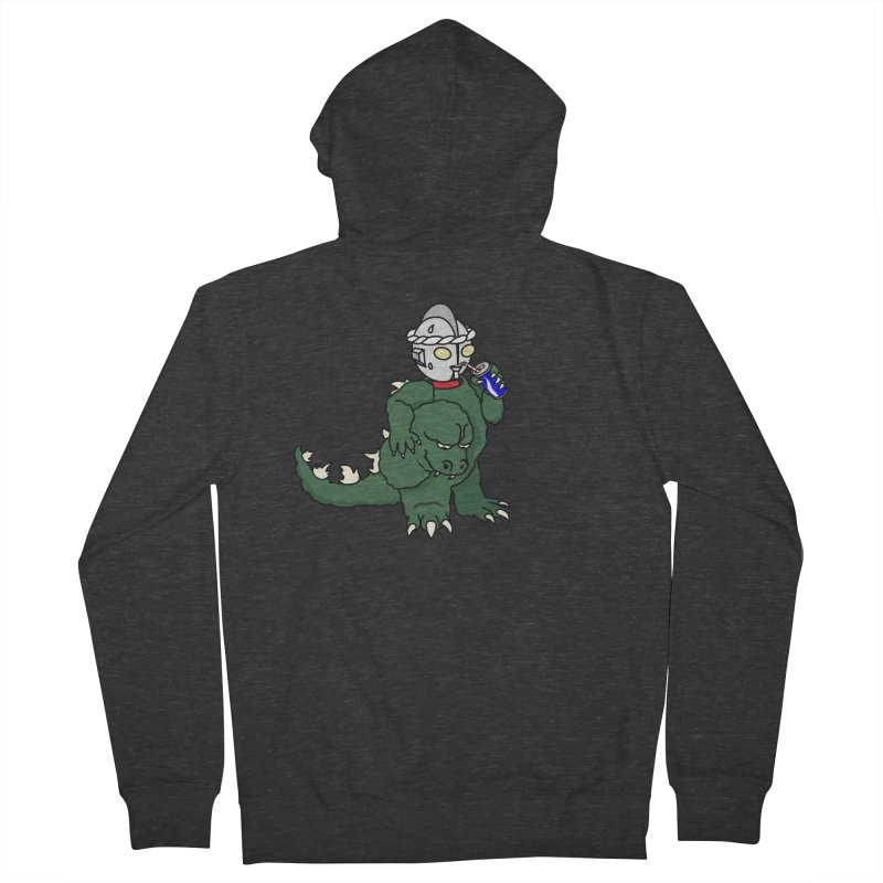 It's Ultra Tough Man Men's French Terry Zip-Up Hoody by dZus's Artist Shop