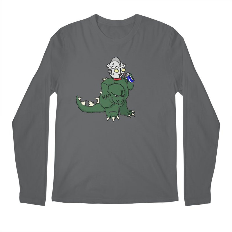 It's Ultra Tough Man Men's Regular Longsleeve T-Shirt by dZus's Artist Shop