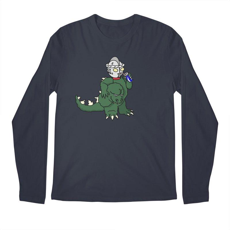 It's Ultra Tough Man Men's Regular Longsleeve T-Shirt by dZus's Artist Shop