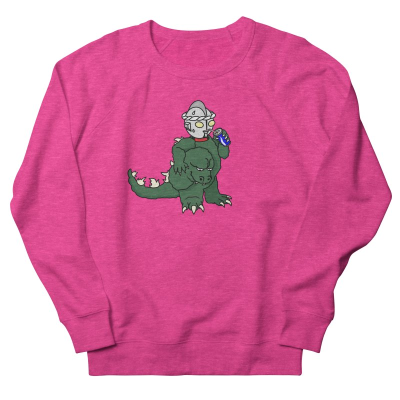 It's Ultra Tough Man Women's French Terry Sweatshirt by dZus's Artist Shop