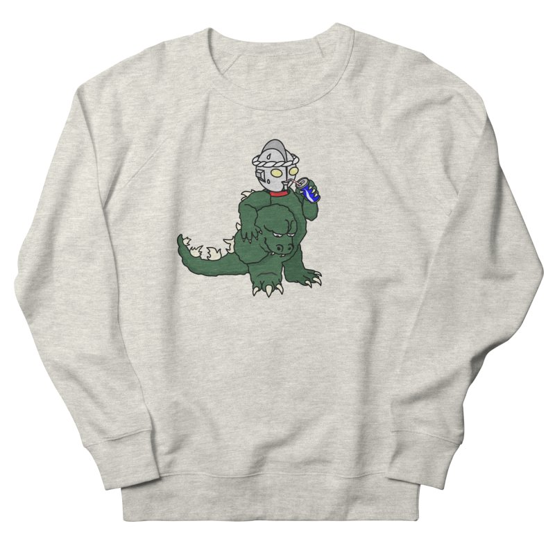 It's Ultra Tough Man Women's French Terry Sweatshirt by dZus's Artist Shop