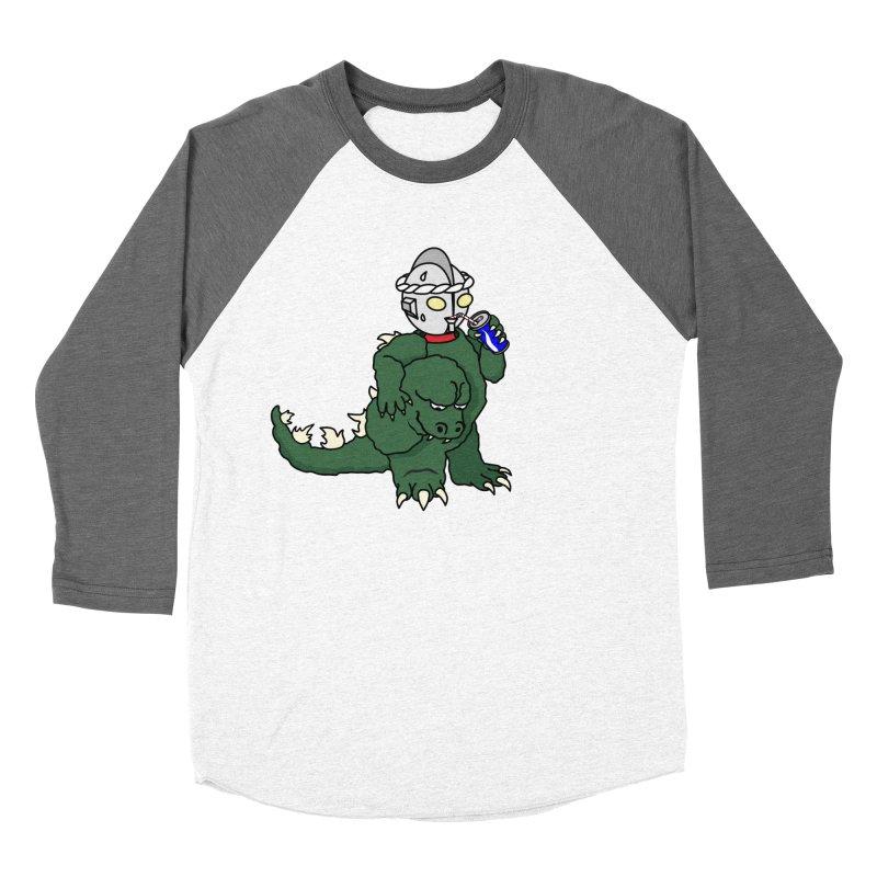 It's Ultra Tough Man Women's Baseball Triblend Longsleeve T-Shirt by dZus's Artist Shop