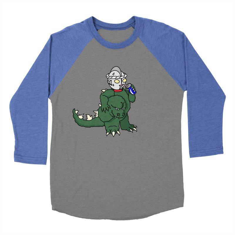 It's Ultra Tough Man Women's Baseball Triblend T-Shirt by dZus's Artist Shop
