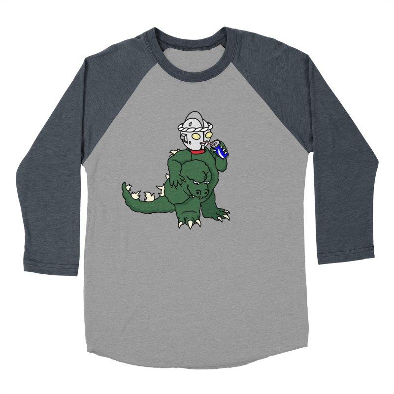 It's Ultra Tough Man Men's Baseball Triblend T-Shirt by dZus's Artist Shop