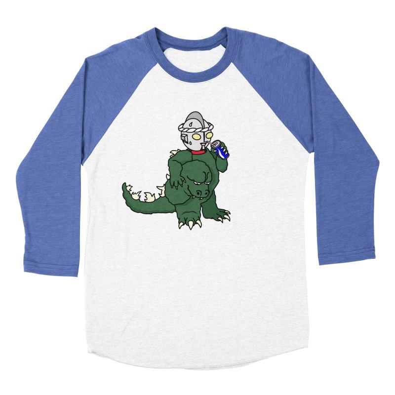 It's Ultra Tough Man Men's Baseball Triblend Longsleeve T-Shirt by dZus's Artist Shop