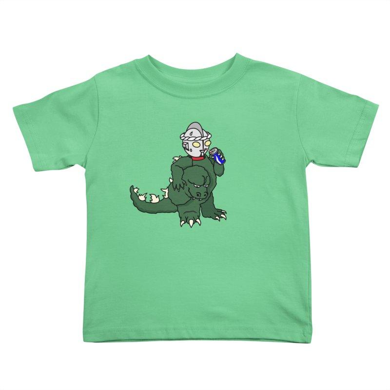 It's Ultra Tough Man Kids Toddler T-Shirt by dZus's Artist Shop