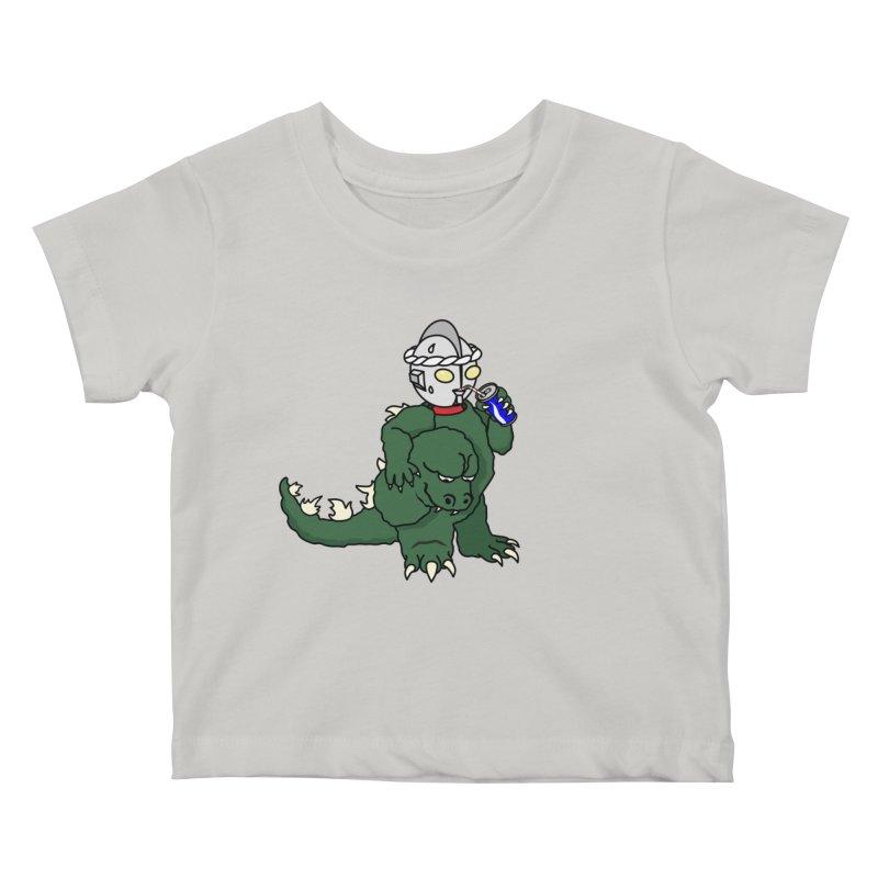 It's Ultra Tough Man Kids Baby T-Shirt by dZus's Artist Shop