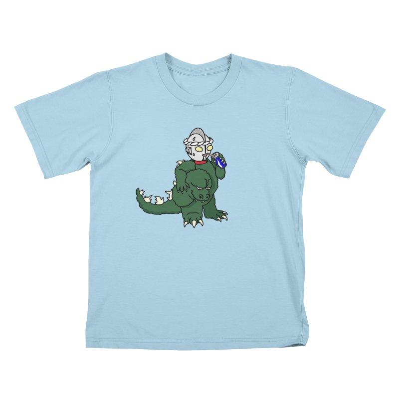 It's Ultra Tough Man Kids T-Shirt by dZus's Artist Shop