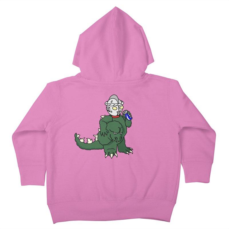 It's Ultra Tough Man Kids Toddler Zip-Up Hoody by dZus's Artist Shop