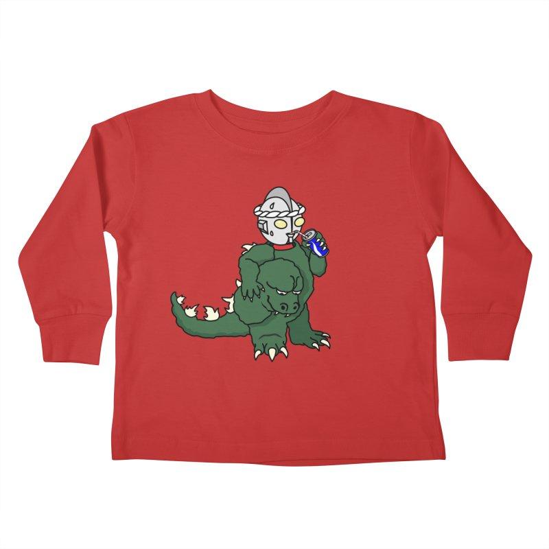 It's Ultra Tough Man Kids Toddler Longsleeve T-Shirt by dZus's Artist Shop