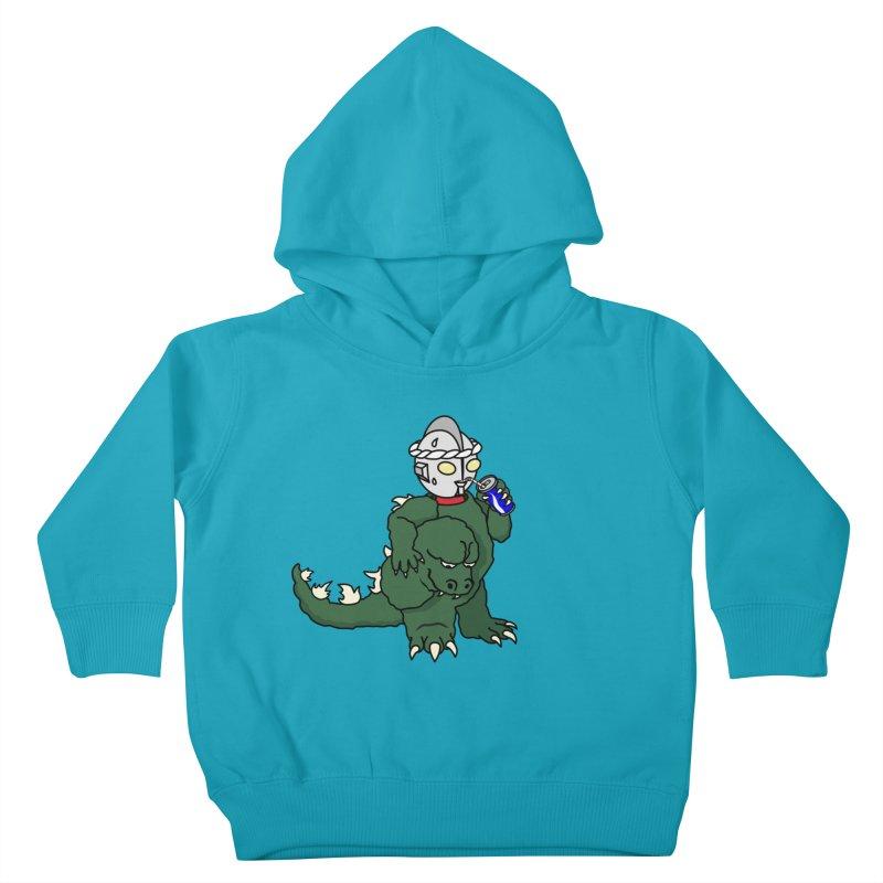 It's Ultra Tough Man Kids Toddler Pullover Hoody by dZus's Artist Shop