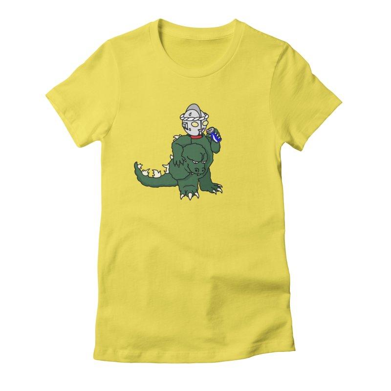It's Ultra Tough Man Women's T-Shirt by dZus's Artist Shop