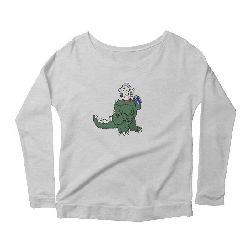 It's Ultra Tough Man Women's Scoop Neck Longsleeve T-Shirt by dZus's Artist Shop