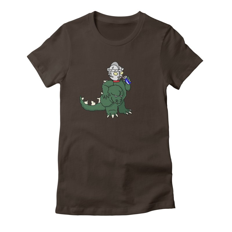 It's Ultra Tough Man Women's Fitted T-Shirt by dZus's Artist Shop