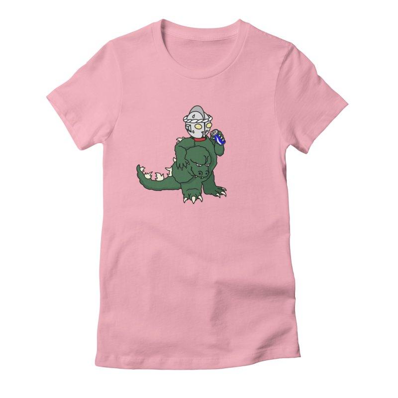 It's Ultra Tough Man Women's Fitted T-Shirt by dZus's Artist Shop