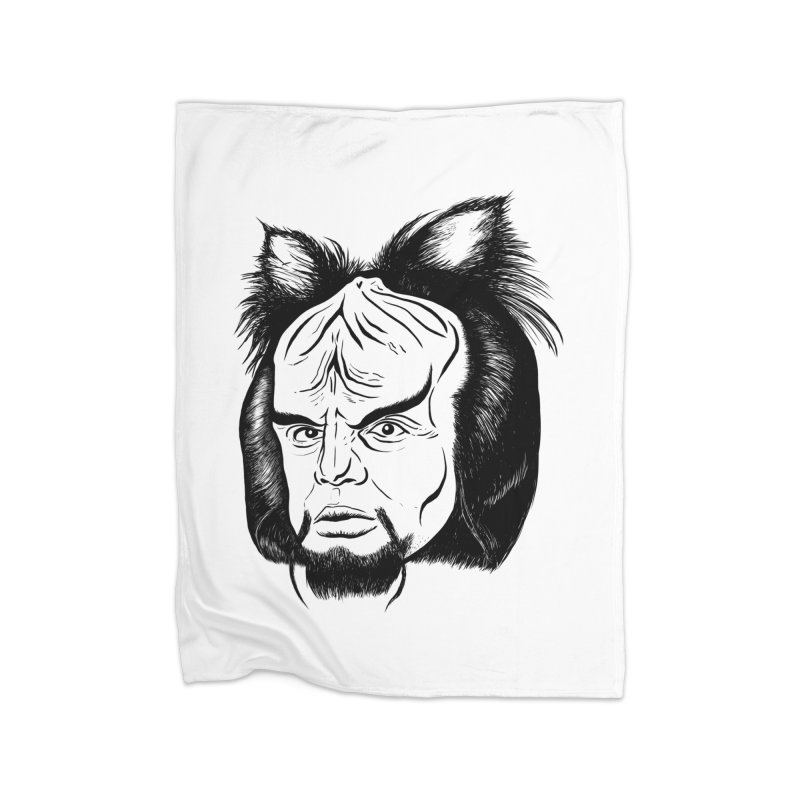 Woorf Home Fleece Blanket Blanket by dZus's Artist Shop