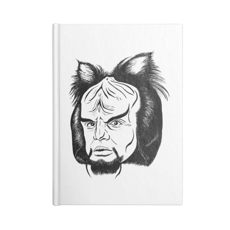 Woorf Accessories Blank Journal Notebook by dZus's Artist Shop