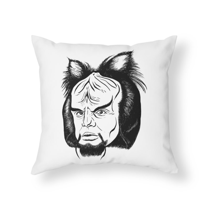 Woorf Home Throw Pillow by dZus's Artist Shop