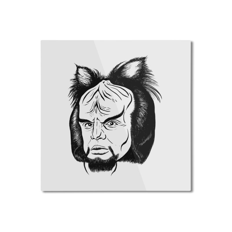 Woorf Home Mounted Aluminum Print by dZus's Artist Shop