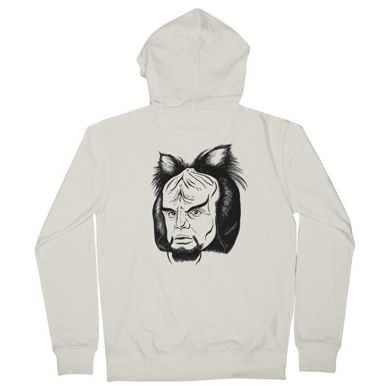 Woorf Women's Zip-Up Hoody by dZus's Artist Shop