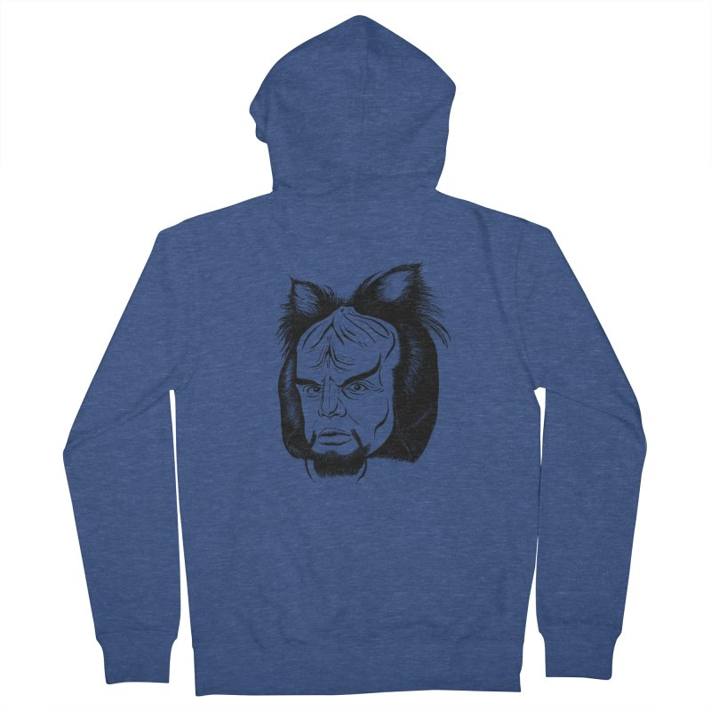 Woorf Men's French Terry Zip-Up Hoody by dZus's Artist Shop
