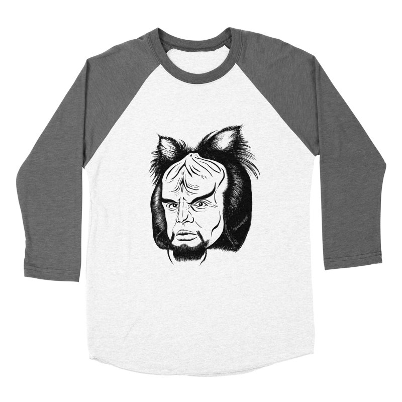 Woorf Women's Baseball Triblend Longsleeve T-Shirt by dZus's Artist Shop