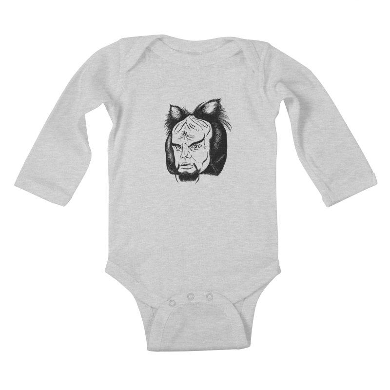 Woorf Kids Baby Longsleeve Bodysuit by dZus's Artist Shop