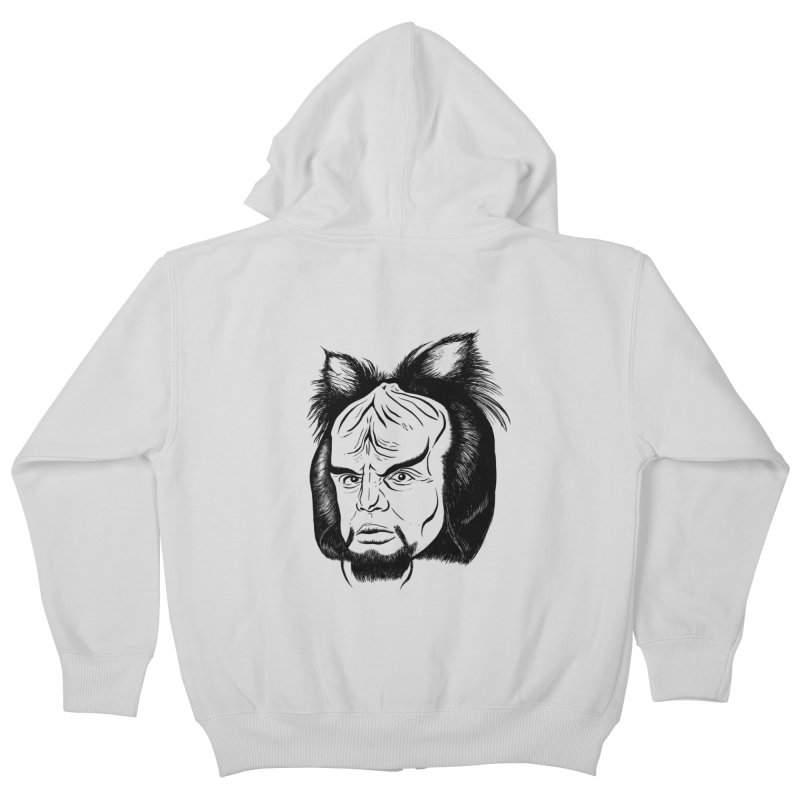 Woorf Kids Zip-Up Hoody by dZus's Artist Shop